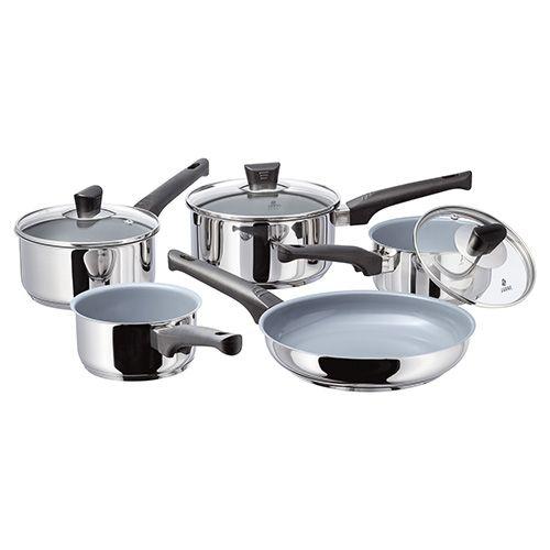 Judge Natural Ceramic 5 Piece Cookware Set
