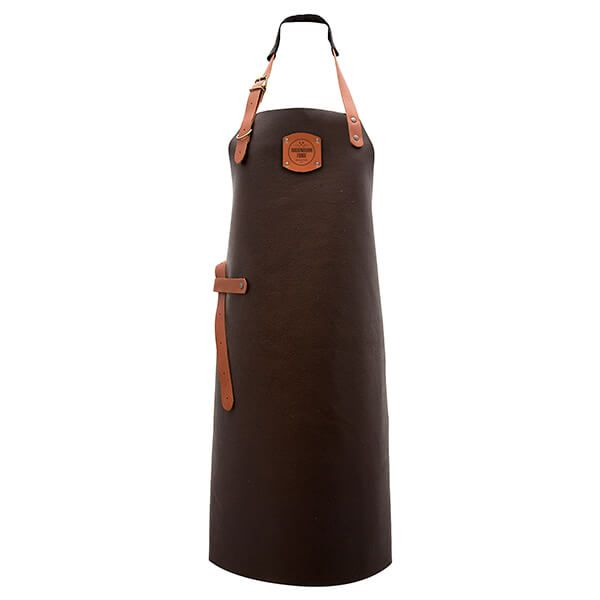 Rockingham Forge Brown Leather Apron