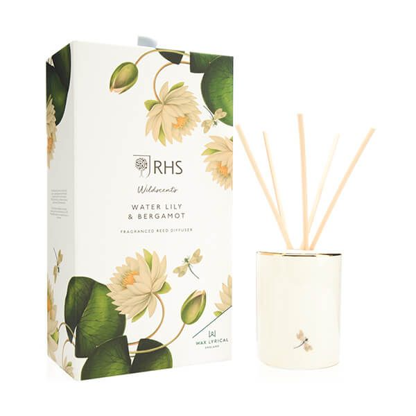 Wax Lyrical RHS Wildscents Water Lily & Bergamot Reed Diffuser 250ml