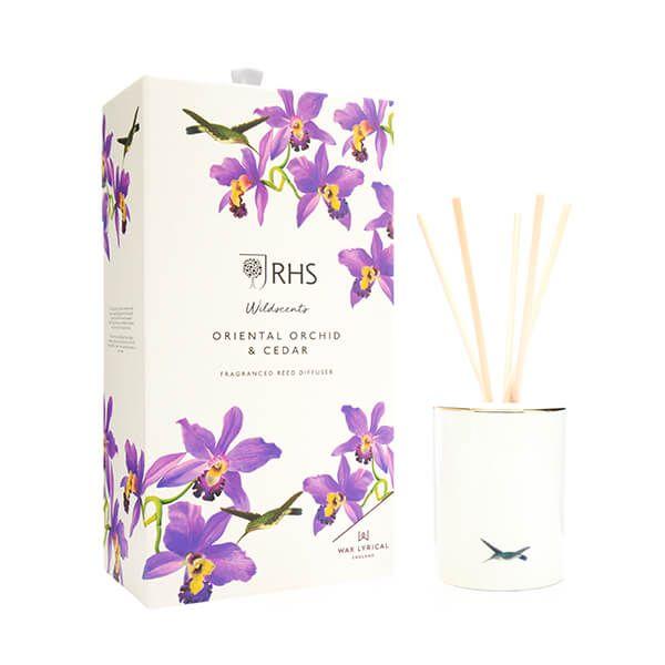 Wax Lyrical RHS Wildscents Oriental Orchid & Cedar Reed Diffuser 250ml