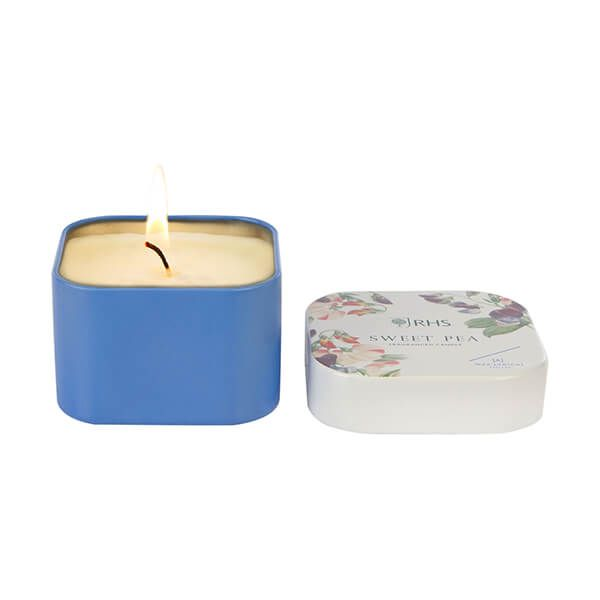 Wax Lyrical RHS Fragrant Garden Sweet Pea Candle Tin