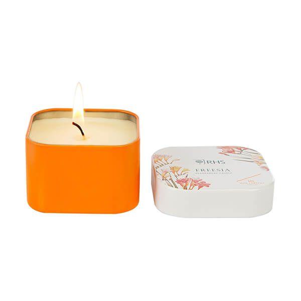 Wax Lyrical RHS Fragrant Garden Freesia Candle Tin