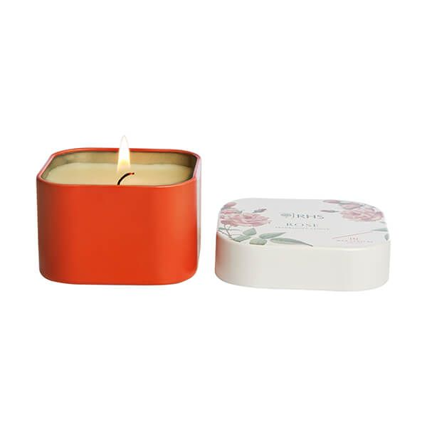 Wax Lyrical RHS Fragrant Garden Rose Candle Tin