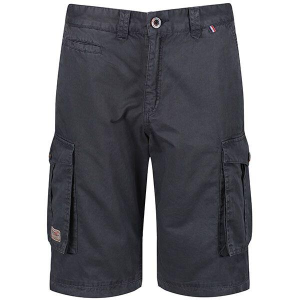 Regatta Men's Shorebay Vintage Cargo Shorts Seal Grey