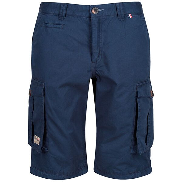 Regatta Men's Shorebay Vintage Cargo Shorts Navy