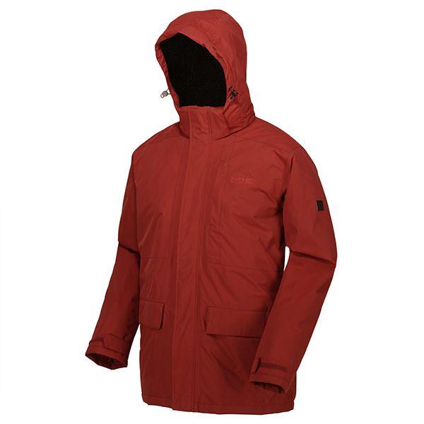 Regatta Spiced Apple Penryn Waterproof Insulated Hooded Jacket
