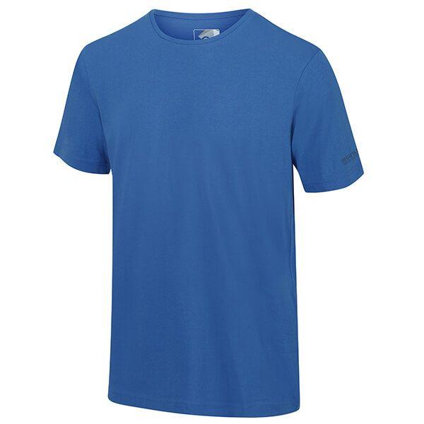 Regatta Men's Tait Lightweight Active T-Shirt Nautical Blue