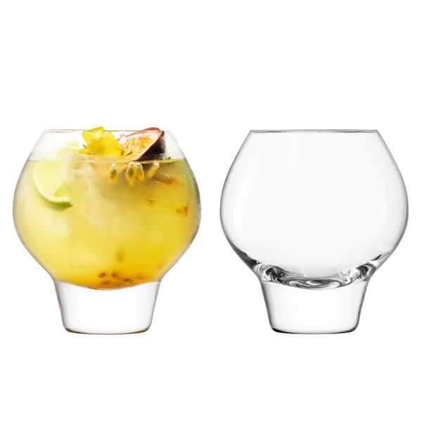 LSA Rum 380ml Balloon Tumbler Set Of 2