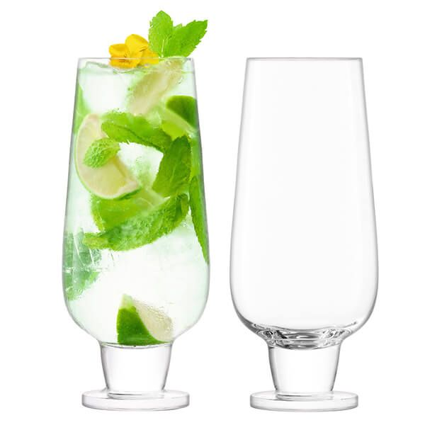 LSA Rum 550ml Mixer Glass Set Of 2