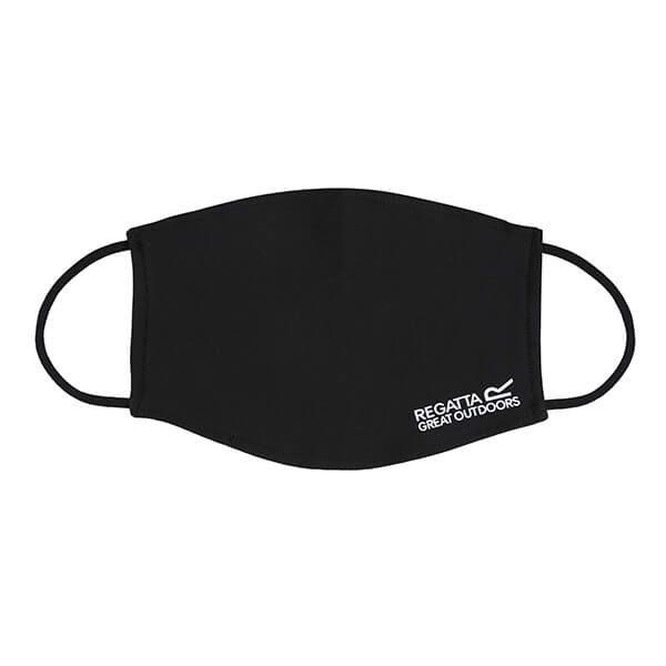 Regatta Pack of Three Adult Face Masks - Black