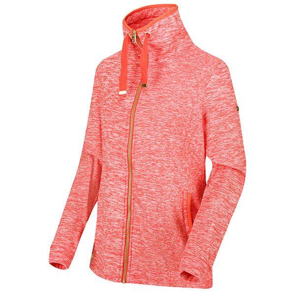 Regatta Women's Evanna Full Zip Lightweight Fleece Red Sky