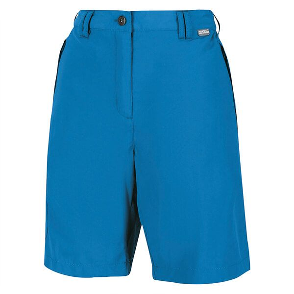 Regatta Women's Chaska II Walking Shorts Blue Aster