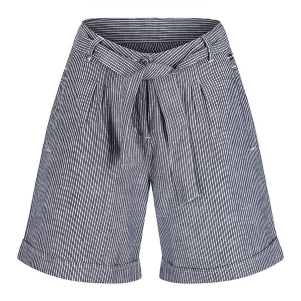 Regatta Women's Samora Casual Shorts Navy Stripe