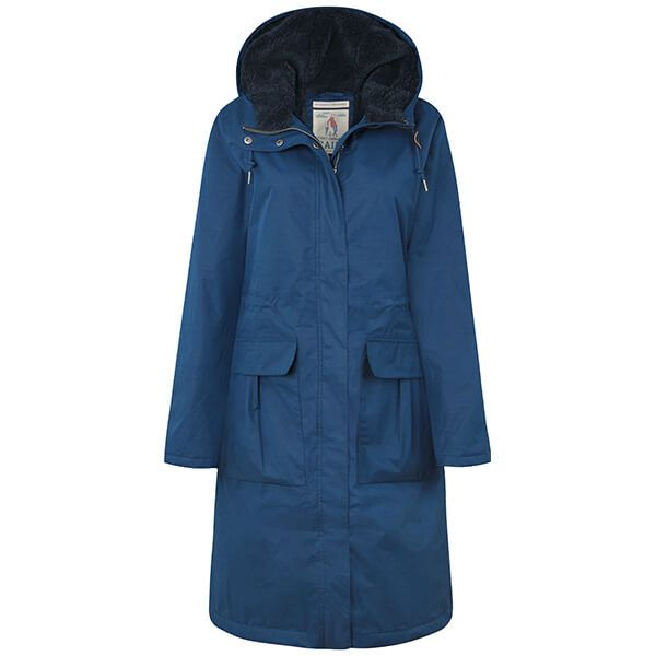 Seasalt Compass Coat Marine
