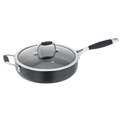 Stellar 2000 Satin Black 26cm Saute Pan