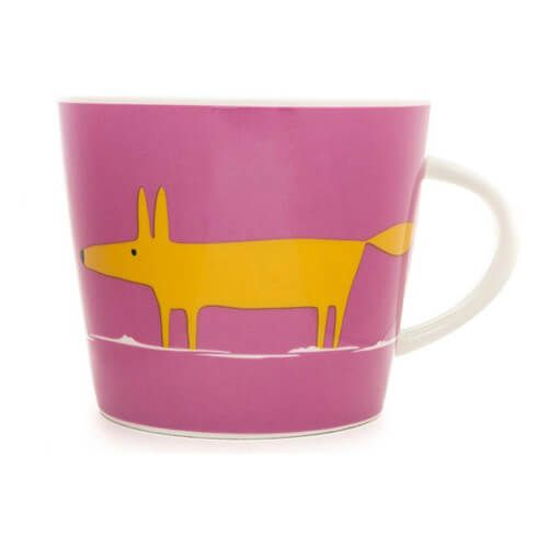 Scion Living Mr Fox Pink & Orange 350ml Mug