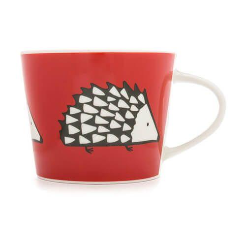 Scion Living Spike Red 250ml Mini Mug