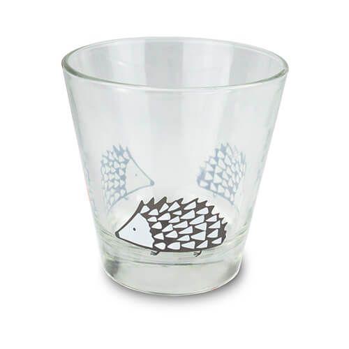 Scion Living Spike Grey Glass Tumbler