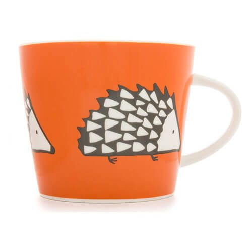 Scion Living Spike Orange 350ml Mug
