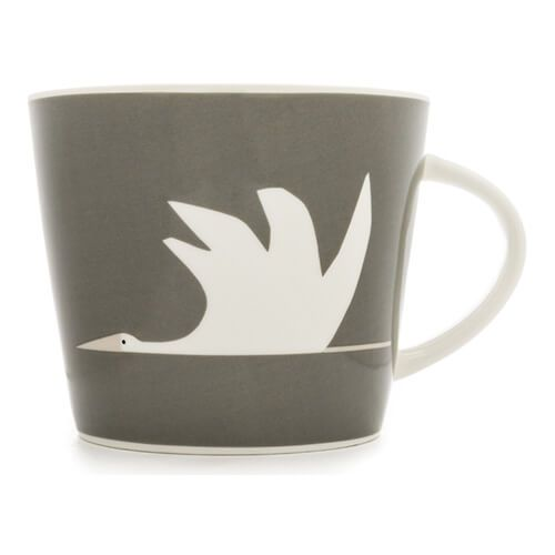Scion Living Colin Crane Charcoal 350ml Mug