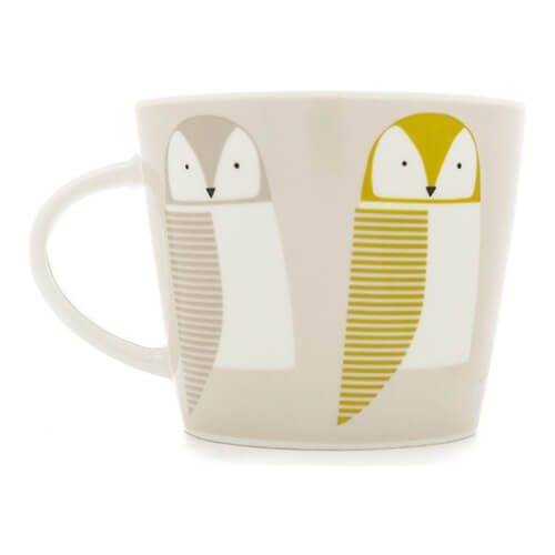 Scion Living Barnie Owl Citrus, Forest & Sky 350ml Mug