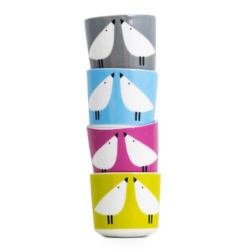 Scion Living Lintu Set Of 4 Egg Cups