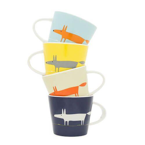Scion Living Mr Fox Set of 4 Espresso Cups