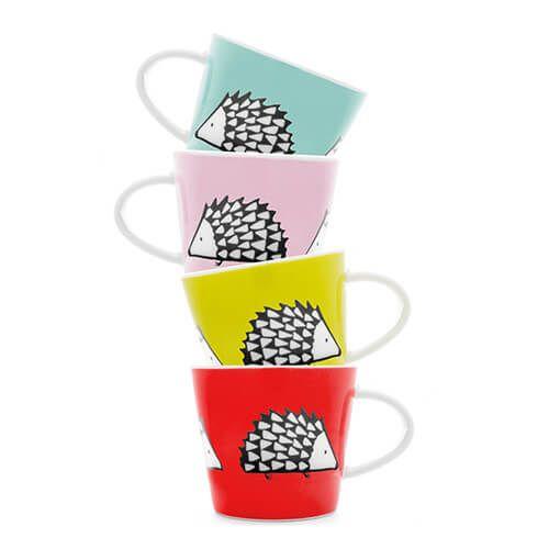 Scion Living Spike Set of 4 Espresso Cups