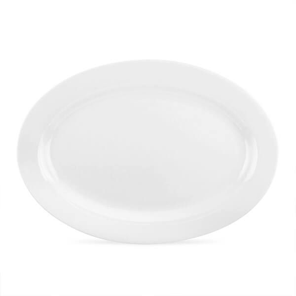 Royal Worcester Serendipity White Oval Platter
