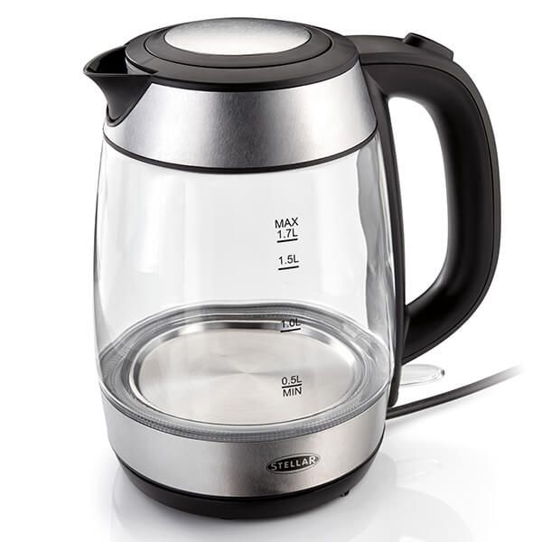 Stellar 1.7 Litre Glass Kettle