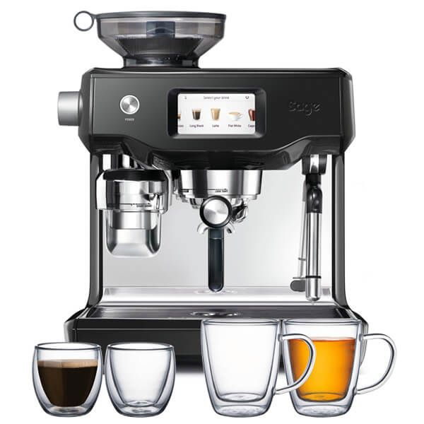 Sage The Oracle Touch Black Sesame Coffee Machine with FREE Gifts