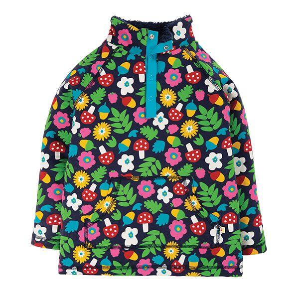 Frugi Organic Indigo Lost Words Snuggle Fleece Size 18-24 Months