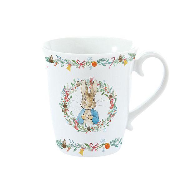 Peter Rabbit Single Christmas Mug