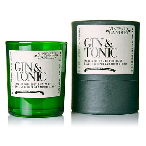 Vineyard Shot Glass Gin & Tonic Candle