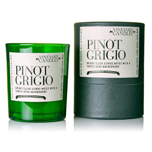 Vineyard Shot Glass Pinot Grigio Candle