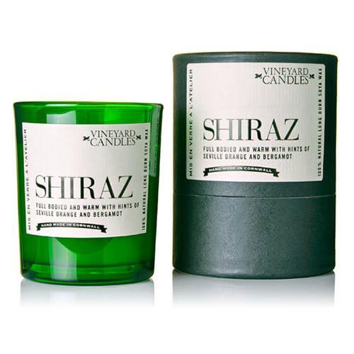 Vineyard Shot Glass Shiraz Candle