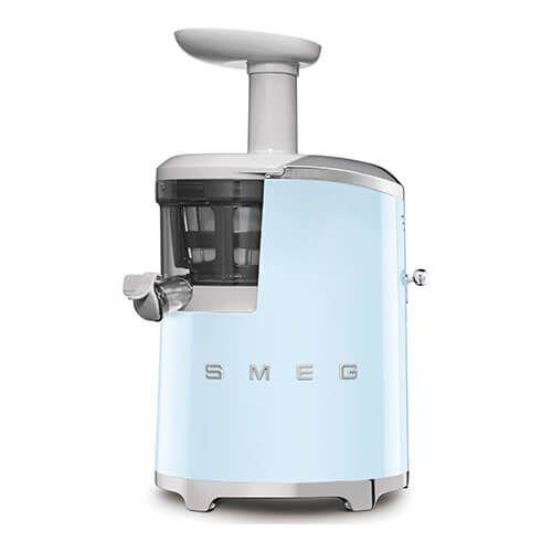 Smeg Retro Style Slow Juicer, Pastel Blue
