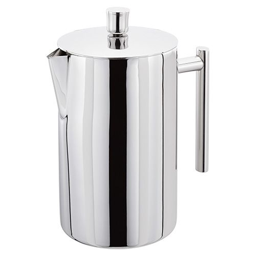Stellar 12 Cup Polished Double Wall Insulated Cafetiere