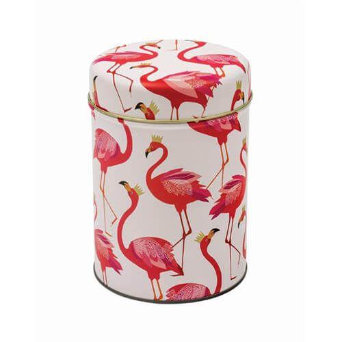 Sara Miller Flamingo Round Caddy