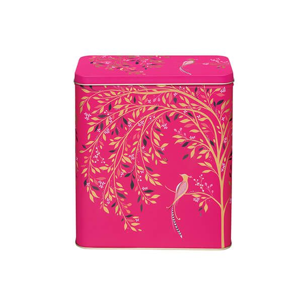 Sara Miller Pink Bird Larder Tin
