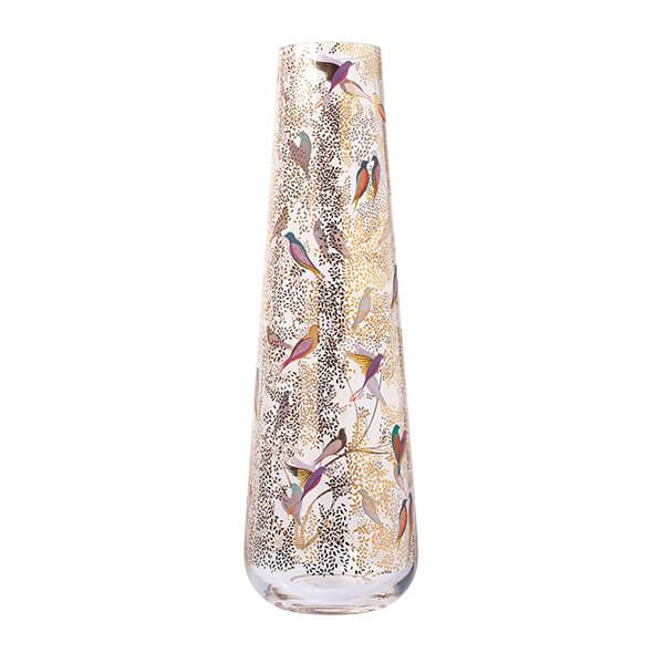 Sara Miller Chelsea Collection Tall Glass Vase