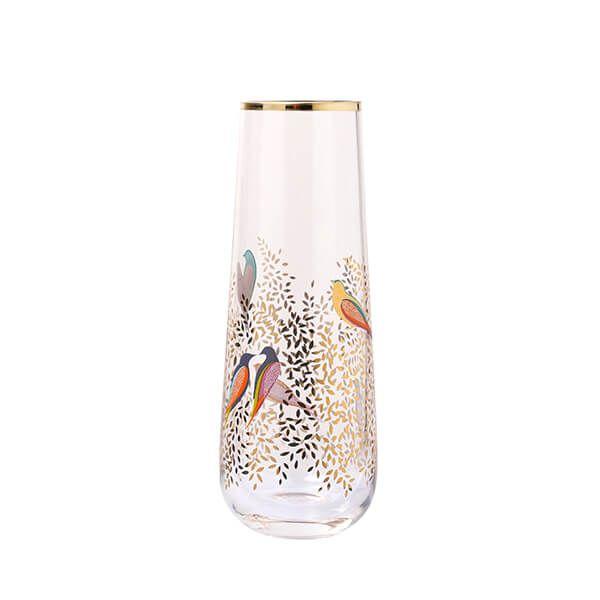 Sara Miller Chelsea Collection Single Stem Glass Vase