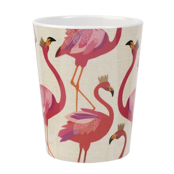 Sara Miller Flamingo Melamine Beaker
