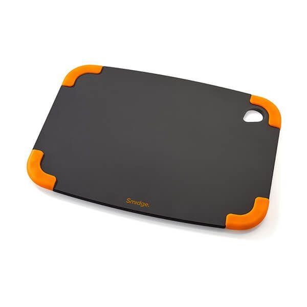 Smidge Slice Chopping Board 29 x 22 x 0.6cm Slate & Citrus