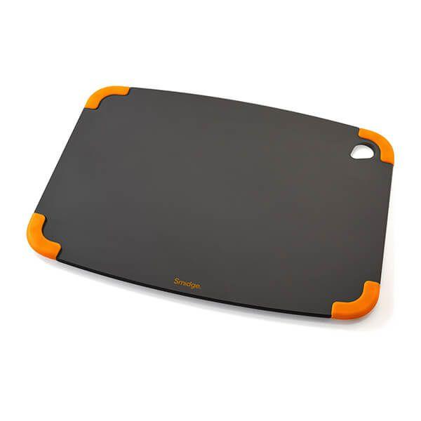 Smidge Slice Chopping Board 36 x 28 x 0.6cm Slate & Citrus