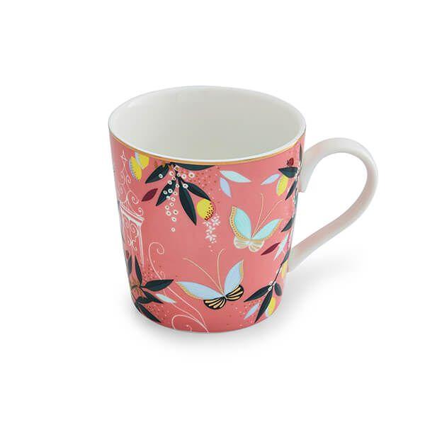 Sara Miller Orchard Peach Mug