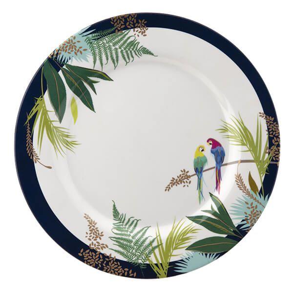 Sara Miller Parrot 28cm Melamine Dinner Plate