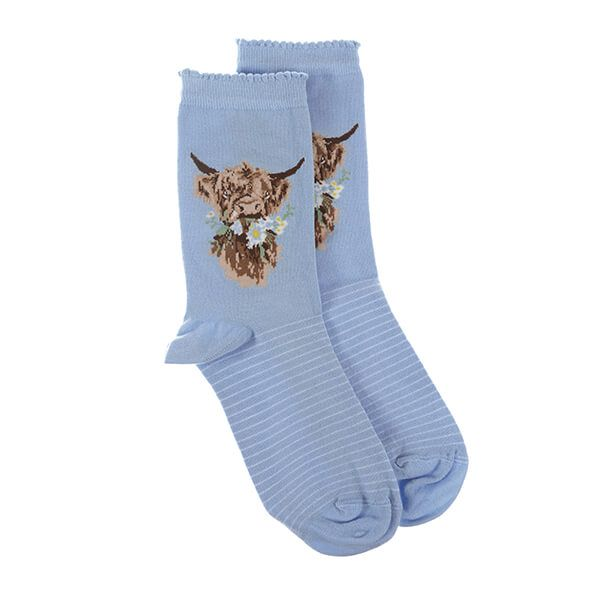 Wrendale Designs Daisy Coo Cow Socks