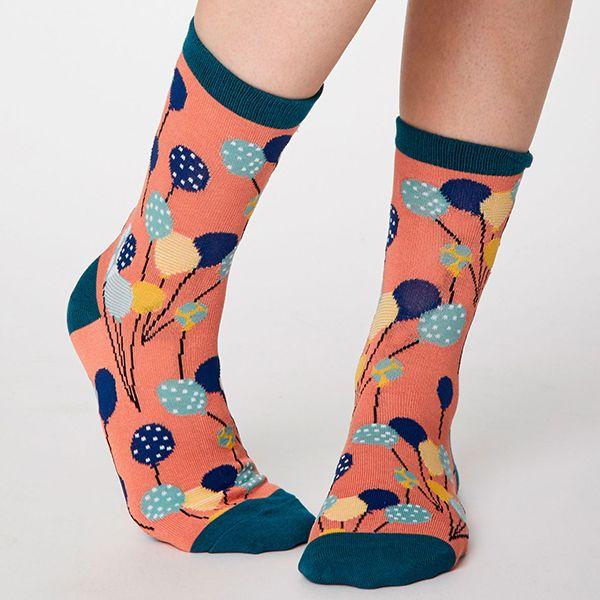 Thought Apricot Nettie Socks