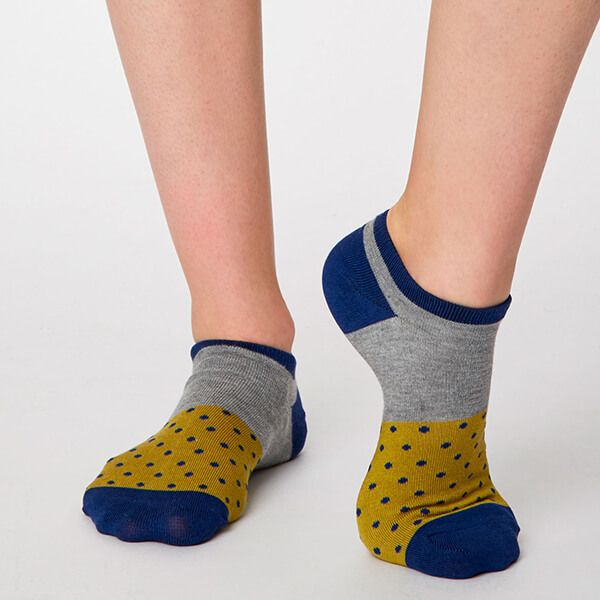 Thought Citron Esther Trainer Socks